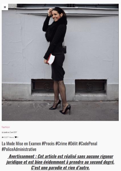Loralis : la mode mise en examen
